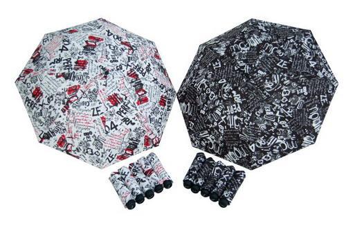Dámský deštník Mini Graffity DERBY