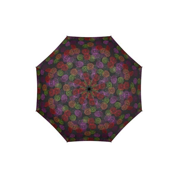 Dámský deštník Mini AC Roundabout DERBY