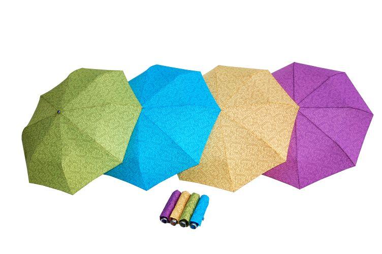 Dámský deštník Alu Light Leaves DOPPLER