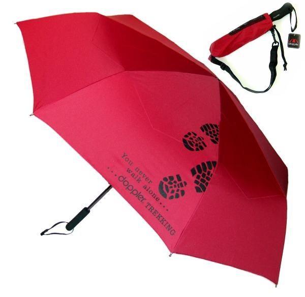 Trekkingový deštník Golf Trekking Uni DOPPLER červený