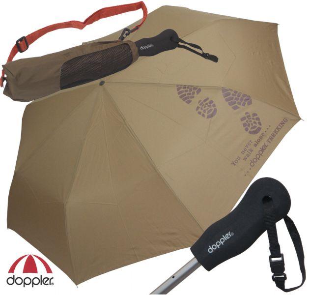 Trekingový deštník Golf Trekking Uni DOPPLER olivový