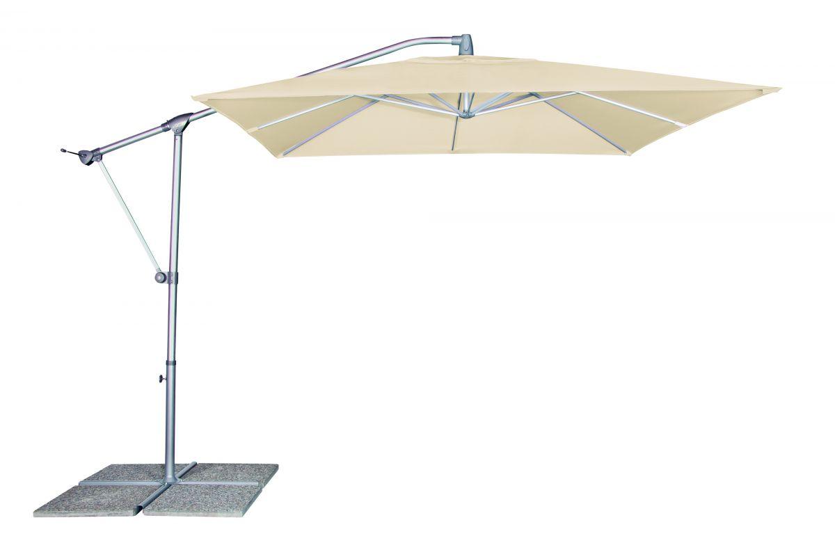 Slunečník Doppler Basic Plus výkyvný 250x250 cm