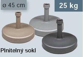 Plnitelný sokl 25 kg Doppler