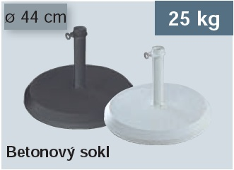 Betonový sokl 25Kg Doppler